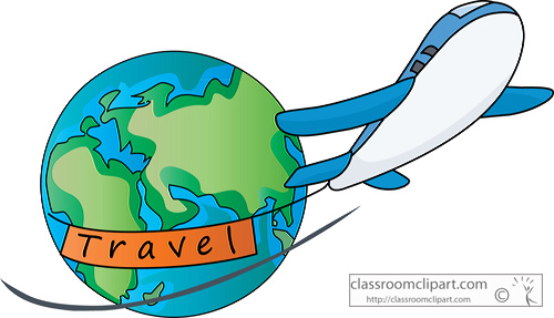 Travel clipart kid
