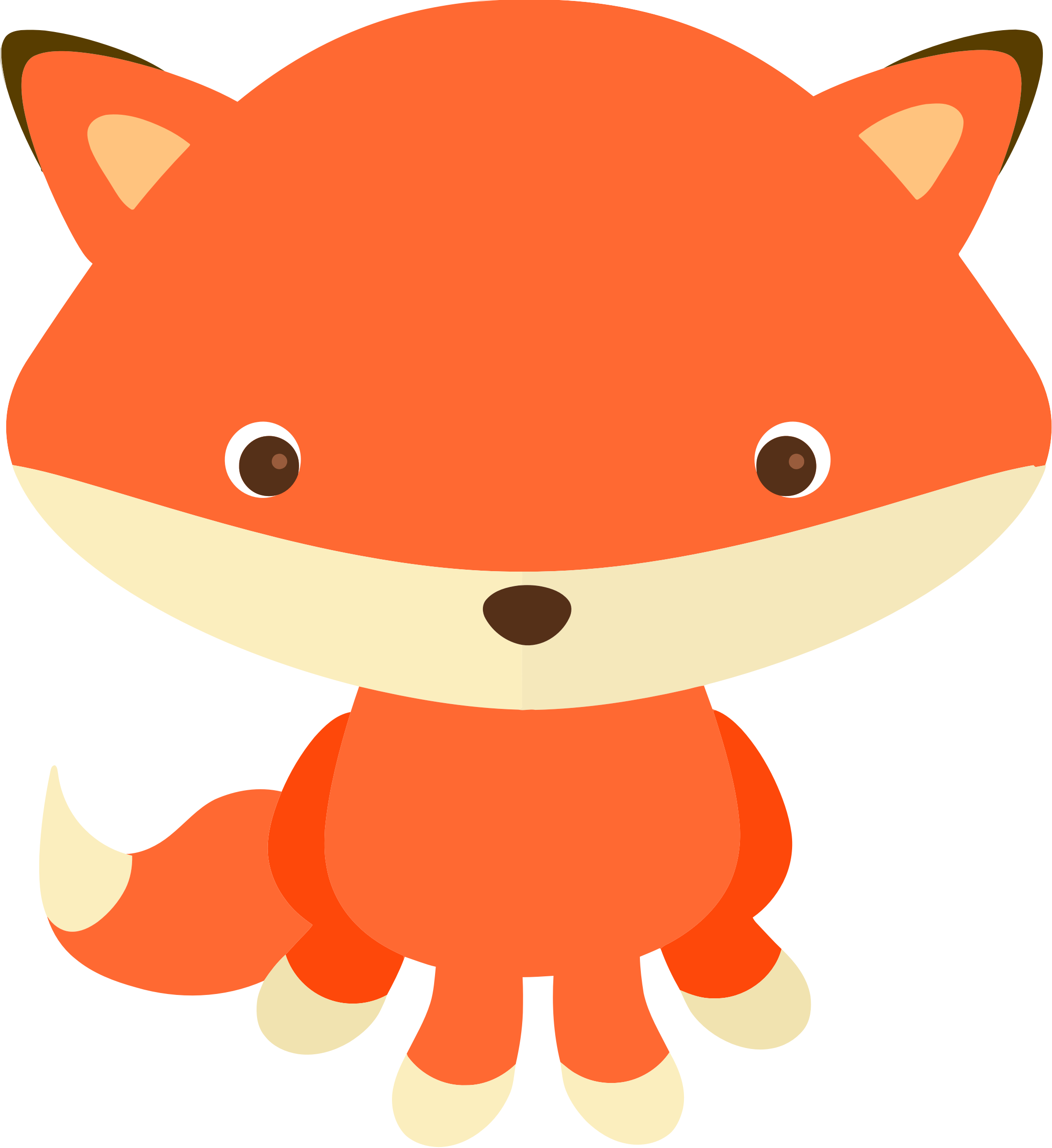 Fox free to use clip art clipartix