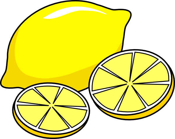 Lemon clipart kid 5