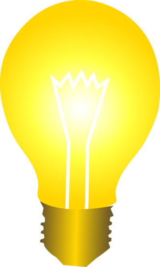 Lightbulb idea light bulb clip art at vector 2 wikiclipart 3
