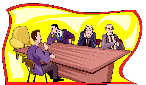 Meeting clip art 7