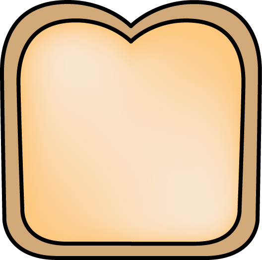 Slices of bread clipart clipartfest