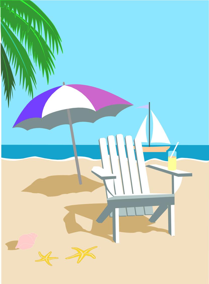 Summer vacation clip art clipart 2 clipartix