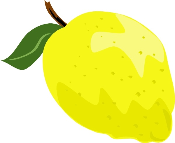 Whole lemon clip art free vector in open office drawing svg