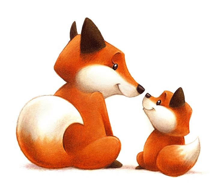 Woodland fox clipart clipartfest