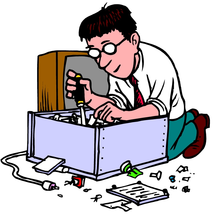 Computer technology clipart