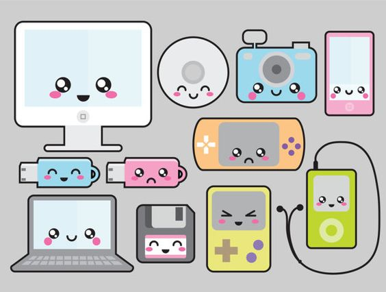 Cute technology clipart clipartfest