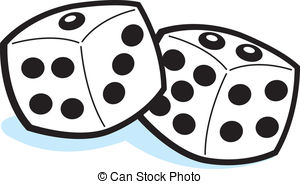 Dice clip art at vector free 2 image clipartix