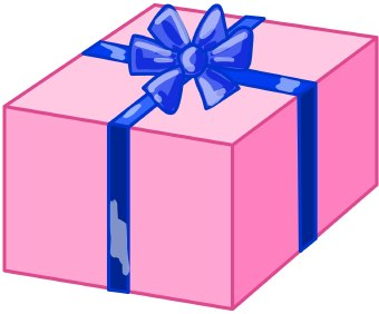 Gift birthday present clip art free clipart images 3