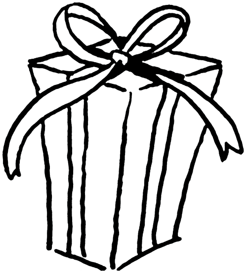 Gift t package clipart kid
