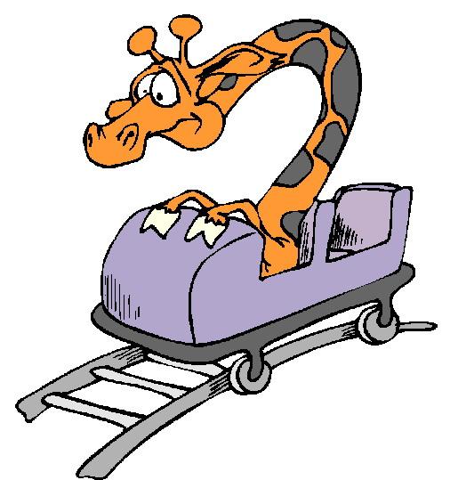 Roller coaster rolleraster cart clipart clipartfest
