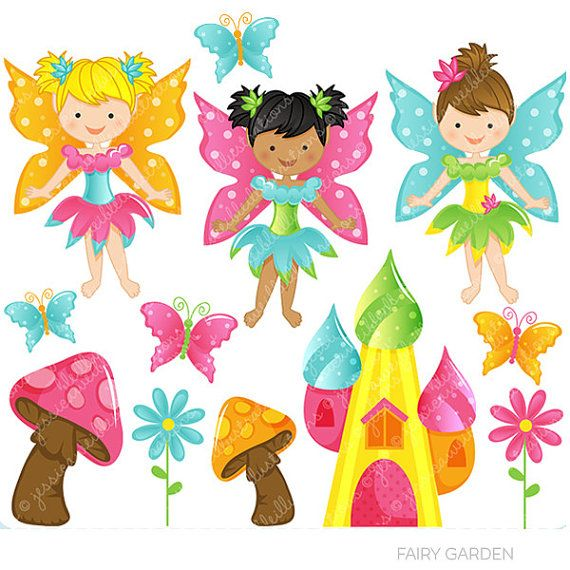 0 ideas about fairy clipart on happy planner girl
