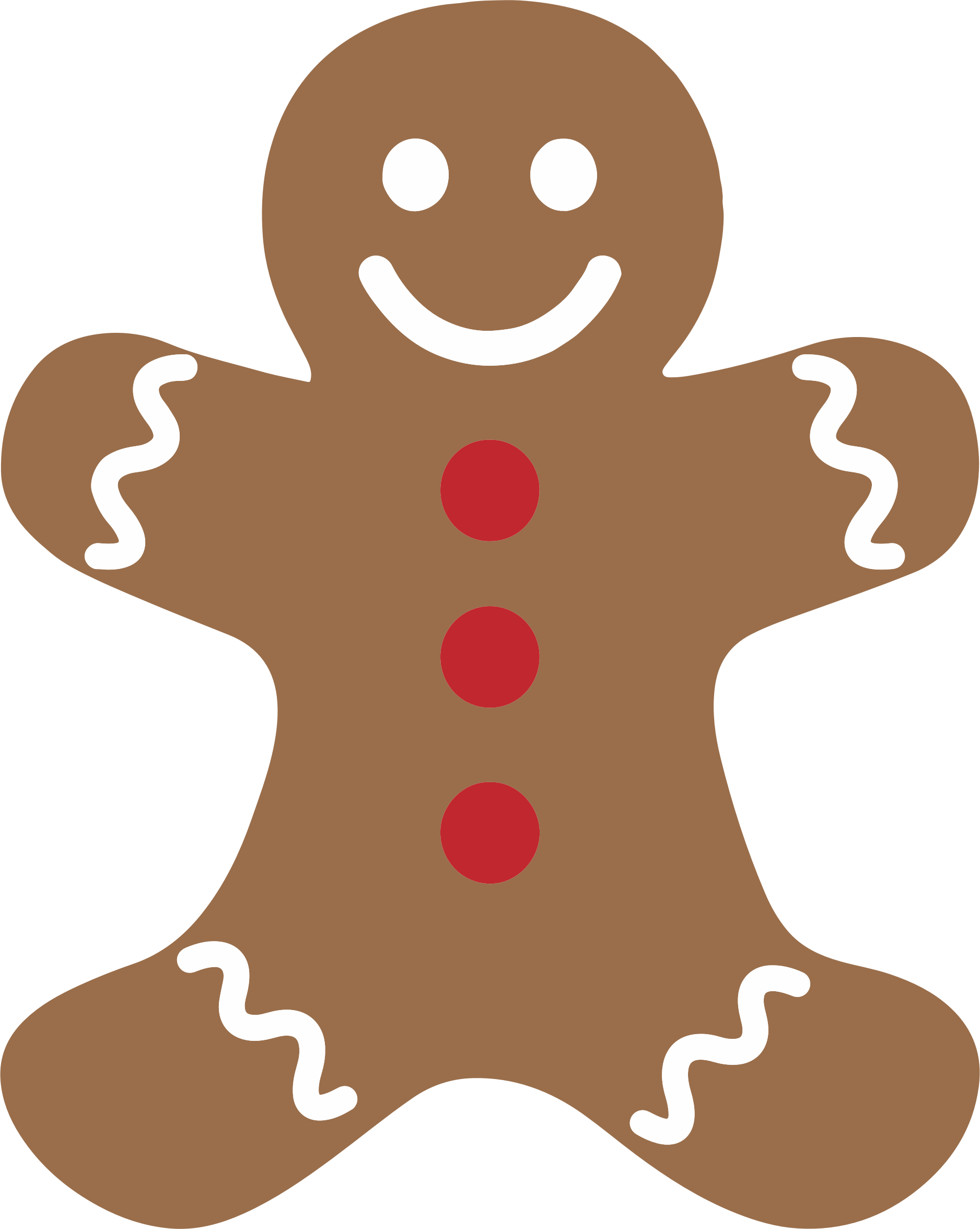 Clipart eaten gingerbread man clipartfest
