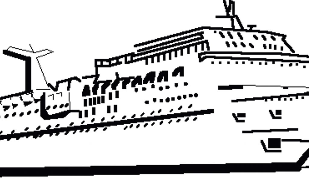 Cruise ship clip art profile school clip art