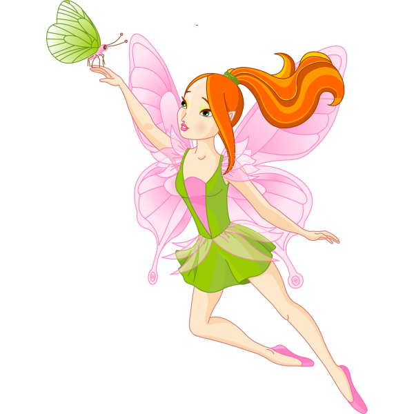 Fairy golden fairies cartoon clip art magical images