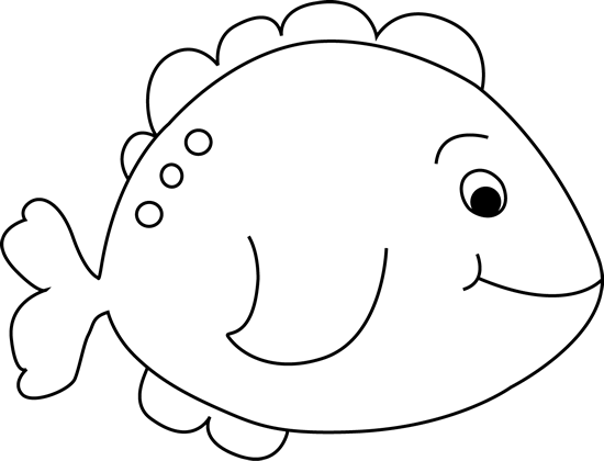 Fish  black and white black and white little fish clip art