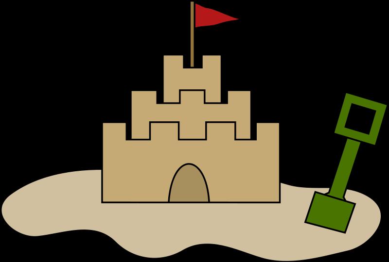 Free castle clipart clipartix
