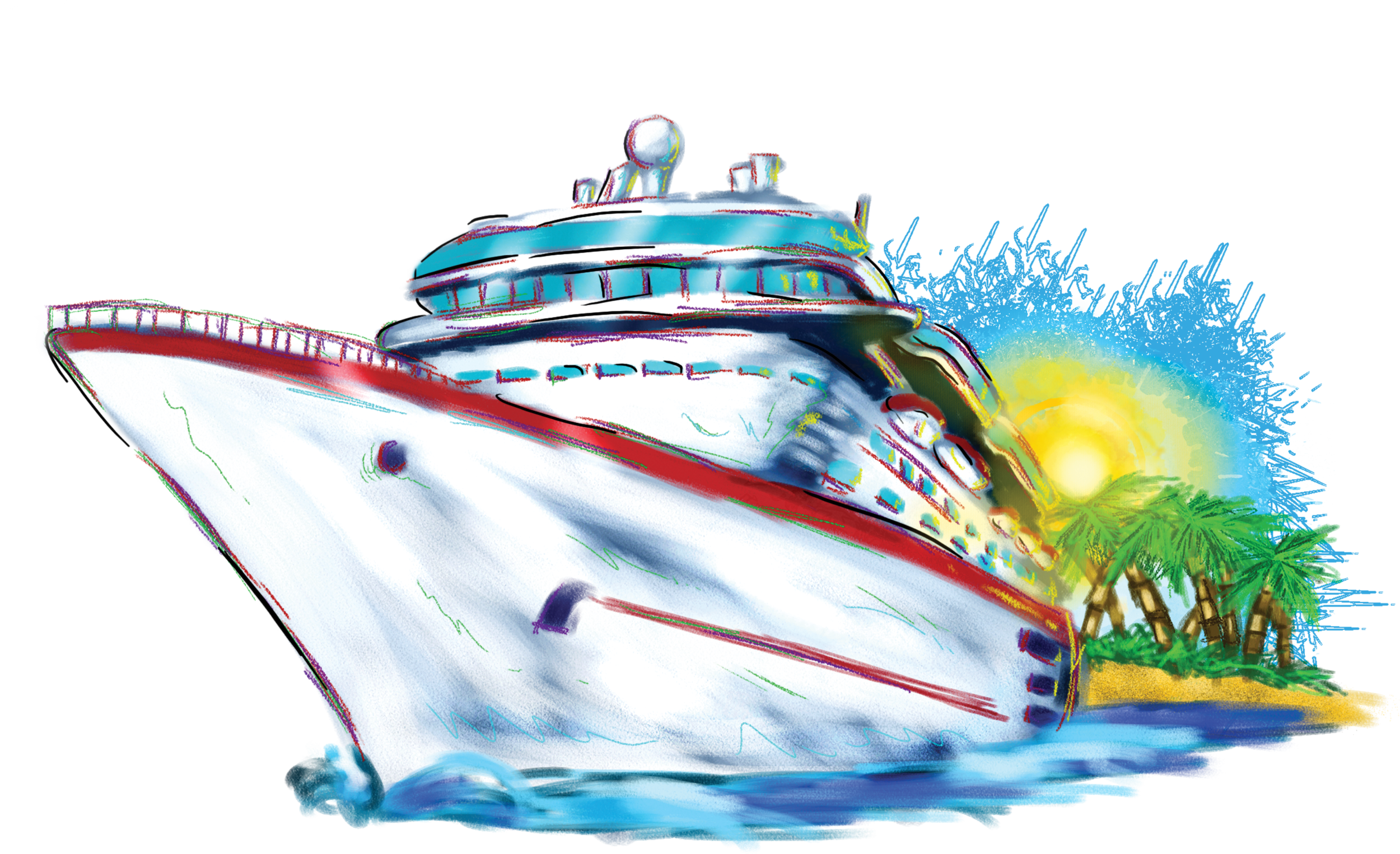 Free clip art cruise ship clipartfest 3