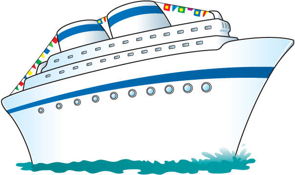 Free clip art cruise ship clipartfest