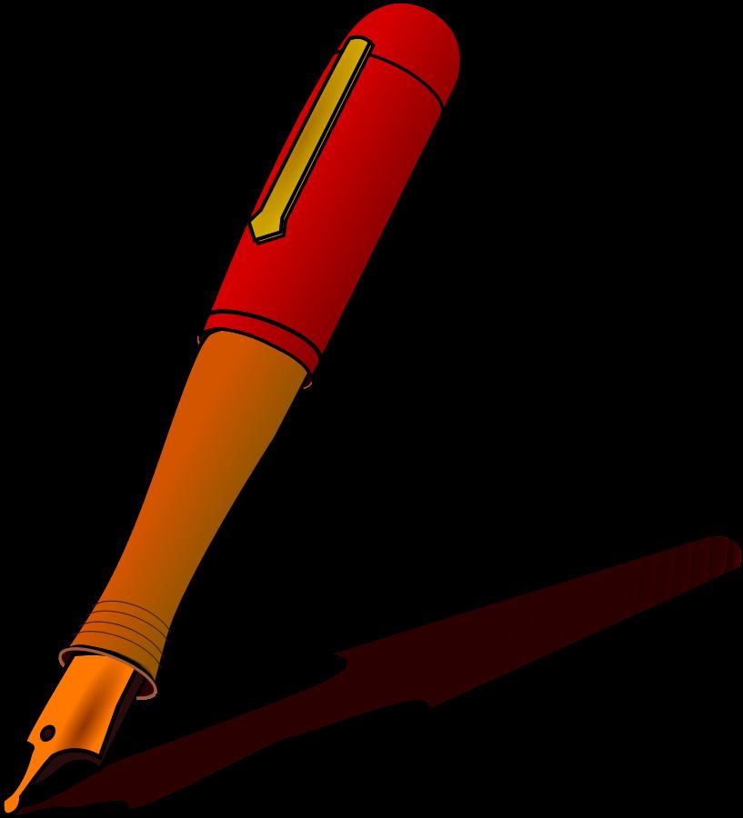 Free pen clipart pictures clipartix 2