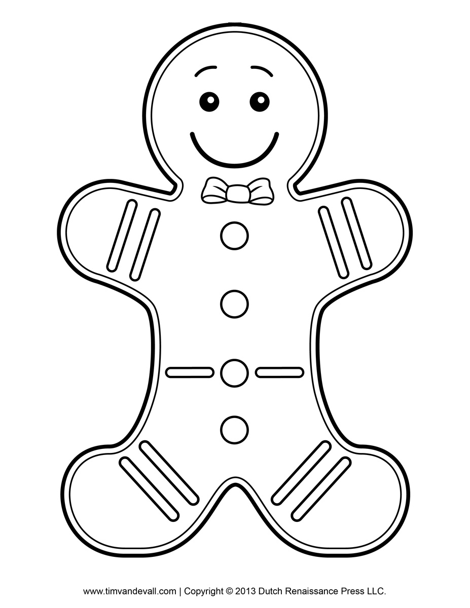 Free printable gingerbread man clipart clipartfest