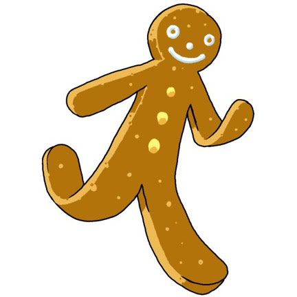Gingerbread man gingerbread clip art clipart pictures clipartix