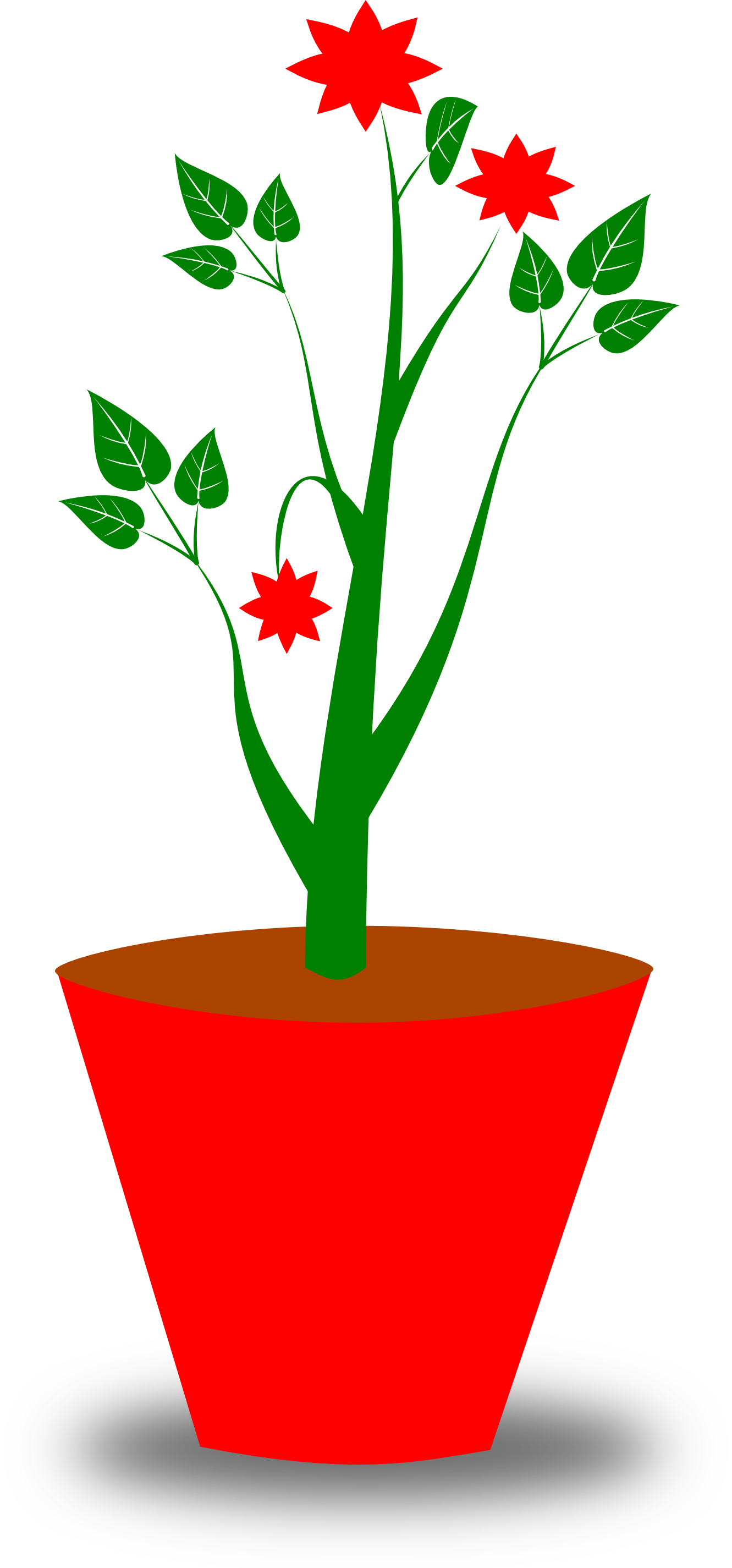 Potted plant clipart kid 3