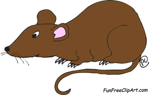 Rat clipart kid