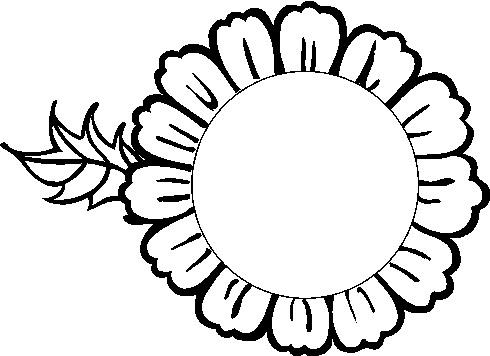 Sunflower clip art free clipart images clipartbold clipartix 4