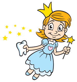 Tooth fairy clipart kid 2