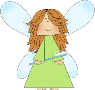 Tooth fairy clipart kid 3