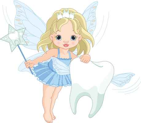 Tooth fairy clipart kid