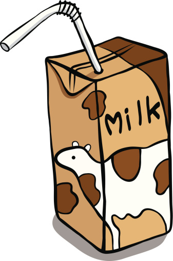 Chocolate milk clip art clipartfest