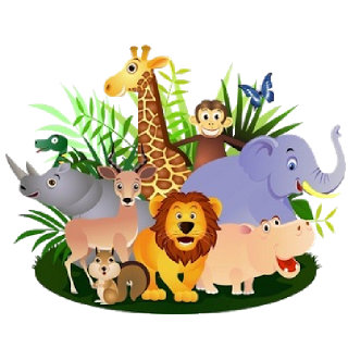 Group of animals clipart clipartfest