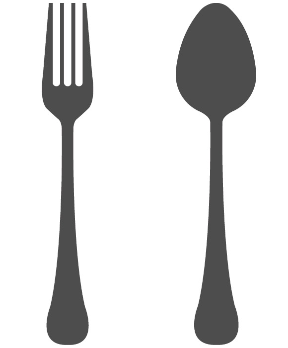 Spoon and fork clipart 2