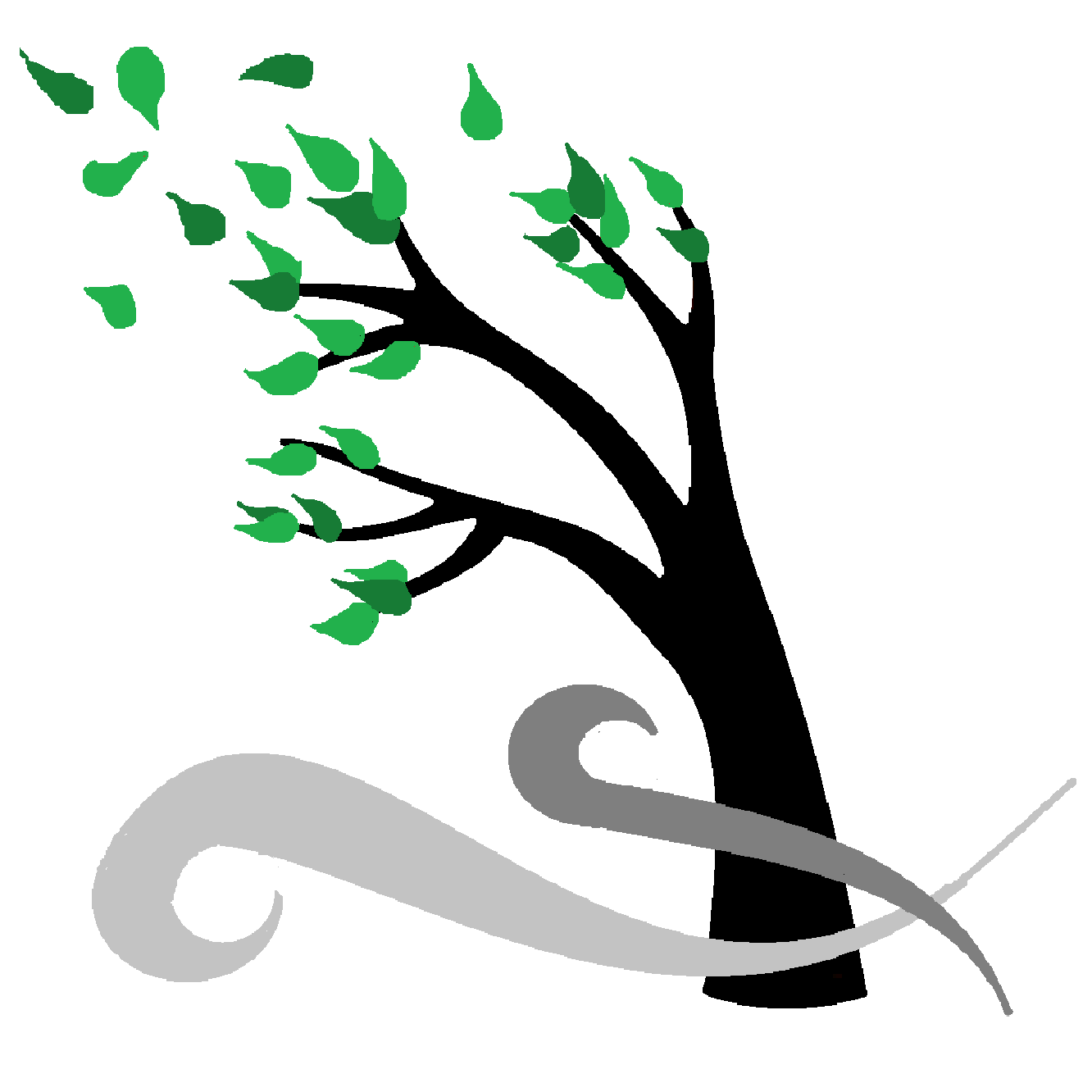 Storm tree clipart clip art of wind 3 clipartwork