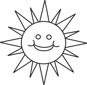 Sun  black and white sun clipart black and white 2