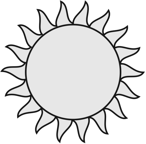 Sun  black and white sun clipart black and white free images 5