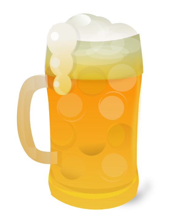 Beer mug free to use clipart 2