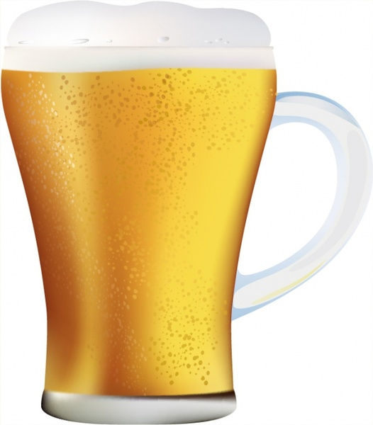 Clip art beer mug free vector download free for