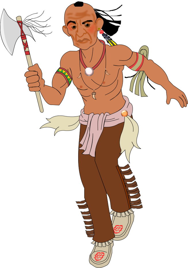Indian clipart kid