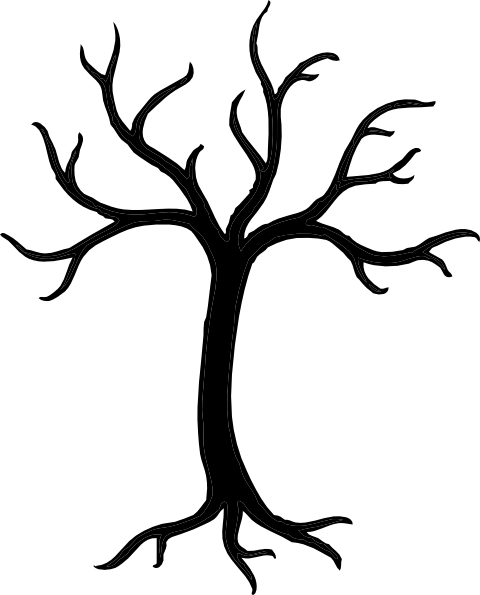 Tree  black and white tree clipart black and white 7