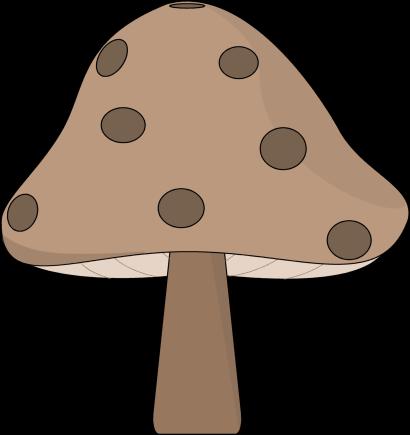 Mushrooms clipart image