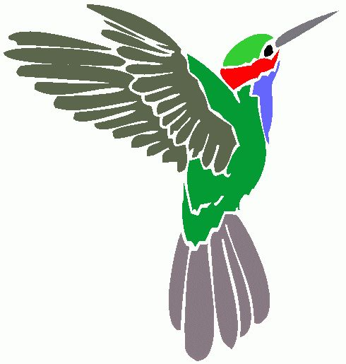 Hummingbird clipart images on
