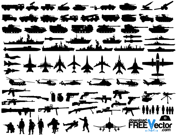 Free military vector clip art freevectors