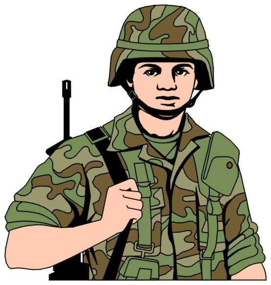 Military clip art gallery 2
