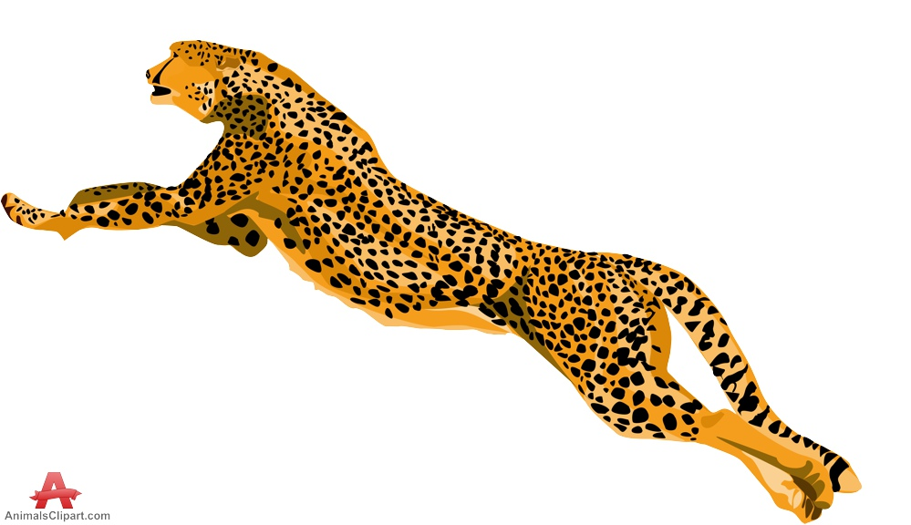 Cheetah clipart cheetah a 2 clipartix