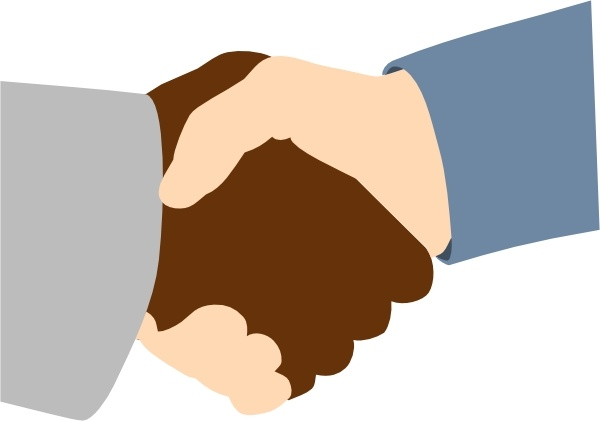Handshake free vector download free formercial use clip art