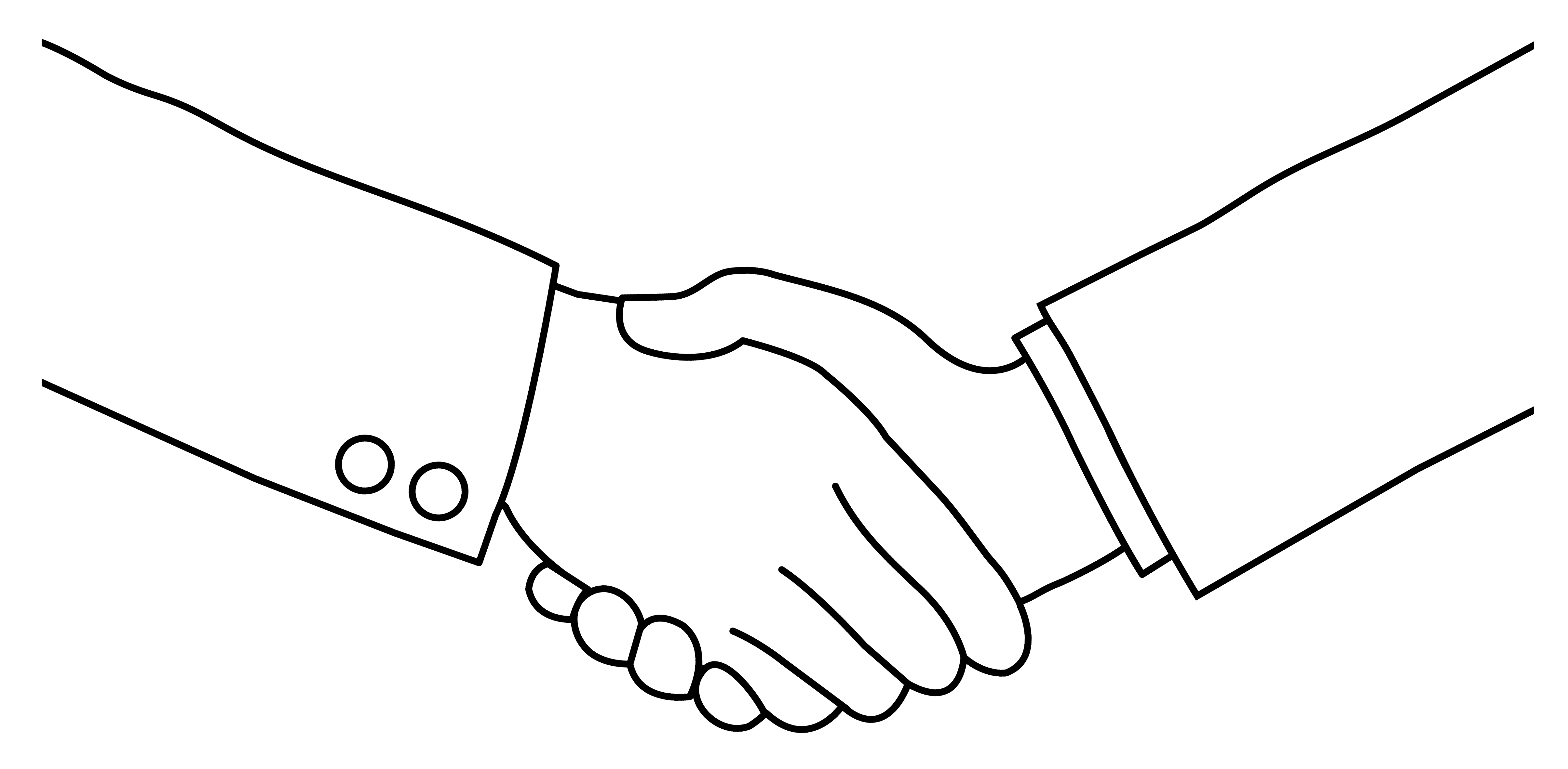 Handshake hand shake clip art at vector clipartbarn