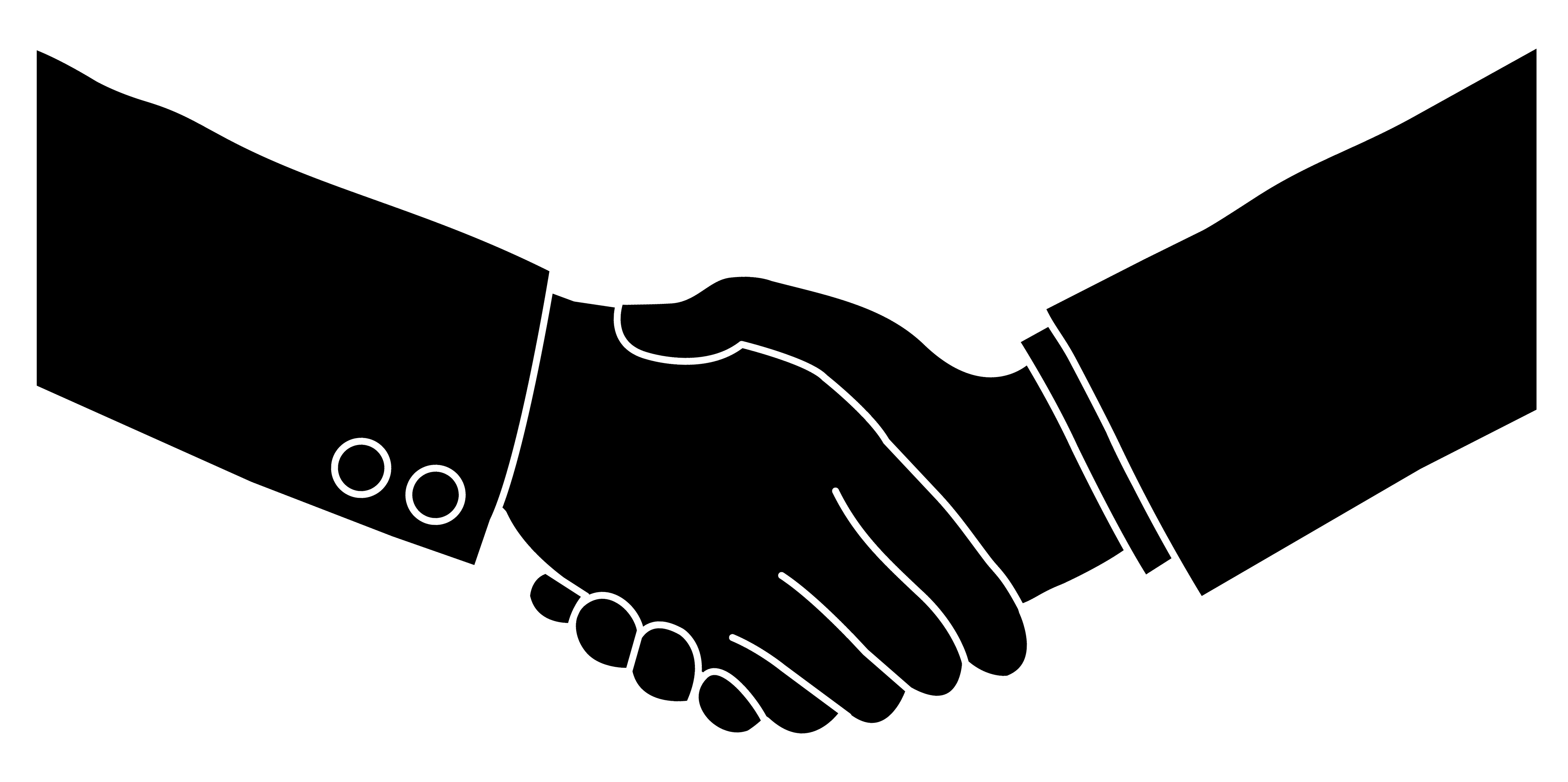Handshake vector free download clip art on